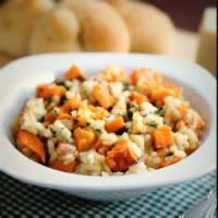 Rice - Sweet Potato Risotto