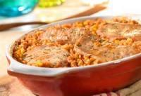 Rice - Casserole -  Pork On Spanish Rice