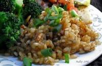 Rice - Side -  Garlicky Brown Rice