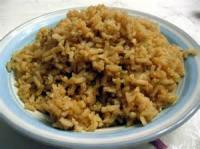 Rice - Pilaf -  Brown Rice Pilaf