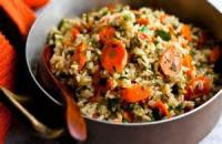 Rice - Carrot Pilaf
