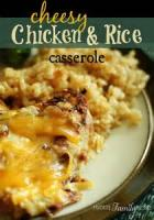 Rice - Casserole -  Cheesy Rice Casserole