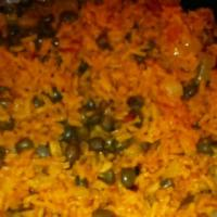 Rice - Puerto Rico Rice With Pigeon Peas