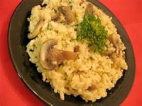 Rice - Microwave Mushroom Risotto