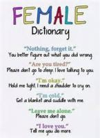 Dictionary For Women