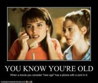 You Know You're Old...