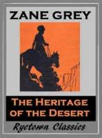 The Heritage Of The Desert - Chapter 1. The Sign Of The Sunset