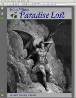 Paradise Lost - Book 1
