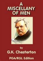 A Miscellany Of Men - The Free Man