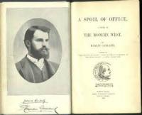 A Spoil Of Office: A Story Of The Modern West - Chapter 27. Bradley's Long-Cherished Hope Vanishes