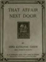 That Affair Next Door - Book 1. Miss Butterworth's Window - Chapter 12. The Keys
