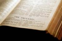 The Book Of Proverbs [bible, Old Testament] - Proverbs 1:1 To Proverbs 1:33 (Bible)