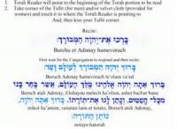 Before One Reads The Torah