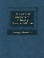 One Of Our Conquerors - Book 4 - Chapter 29. Shows One Of The Shadows Of The World...